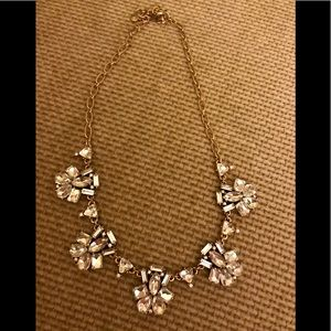 J Crew rhinestone necklace VGUC